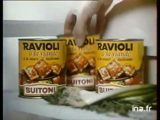 Pub Buitoni Ravioli (1987)