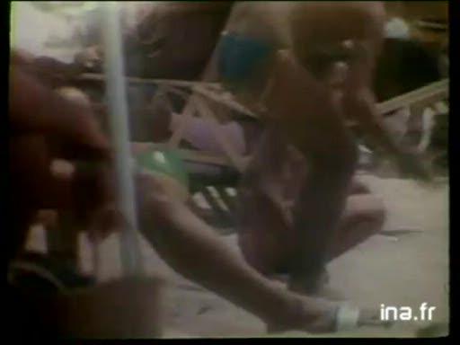 Pub Coca Cola la Plage (1984)