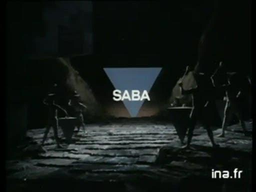 Pub Continental Edison Saba Téléviseur (1984)