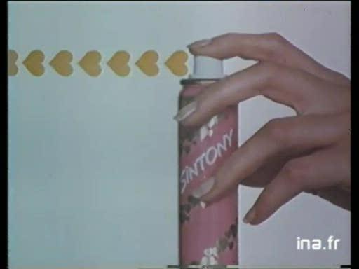 Pub Déodorant Sintony (1984)