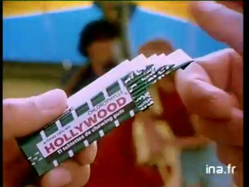 Pub Hollywood Chewing Gum Delta Plane (1983)