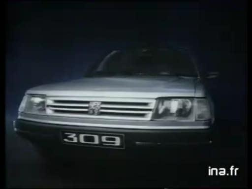 Pub Peugeot 309 (1985)