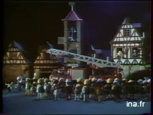 Pub Playmobil Pompiers (1982)