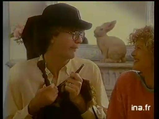 Pub Ravensburger Voyage en France (1988)