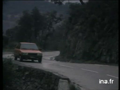 Pub Renault 11 Turbo (1985)