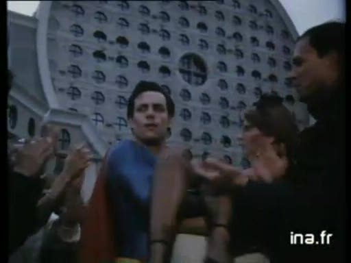 Pub Renault Super 5 Superman (1984)