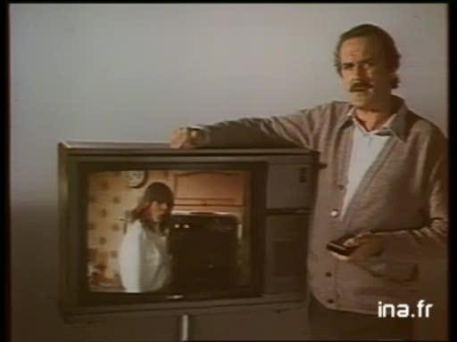 Pub Sony Téléviseur (1982)