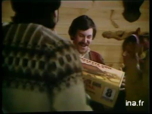 Pub Téfal Les Branchés Aiment la Raclette (1981)