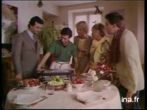 Pub Téfal Les Branchés Aiment les Brochettes (1981)