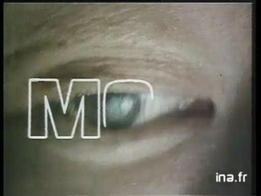 Pub Thomson Téléviseur MC4 Platini (1985)