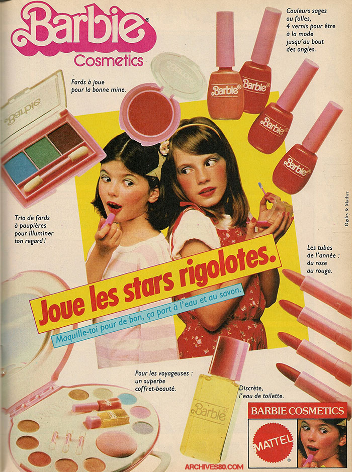 Pub Barbie Cosmetics (1983)