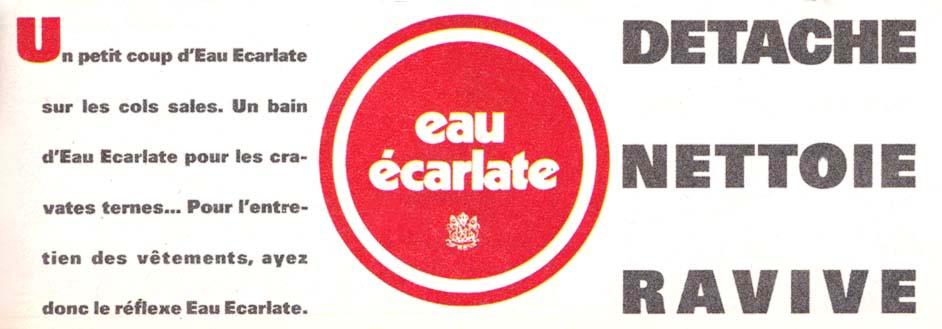 Pub Eau Ecarlate (1985)