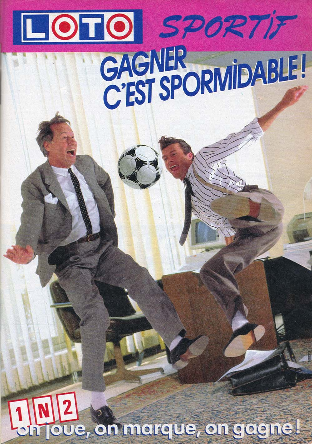 Pub Loto Sportif 1N2 version 1 (1986)