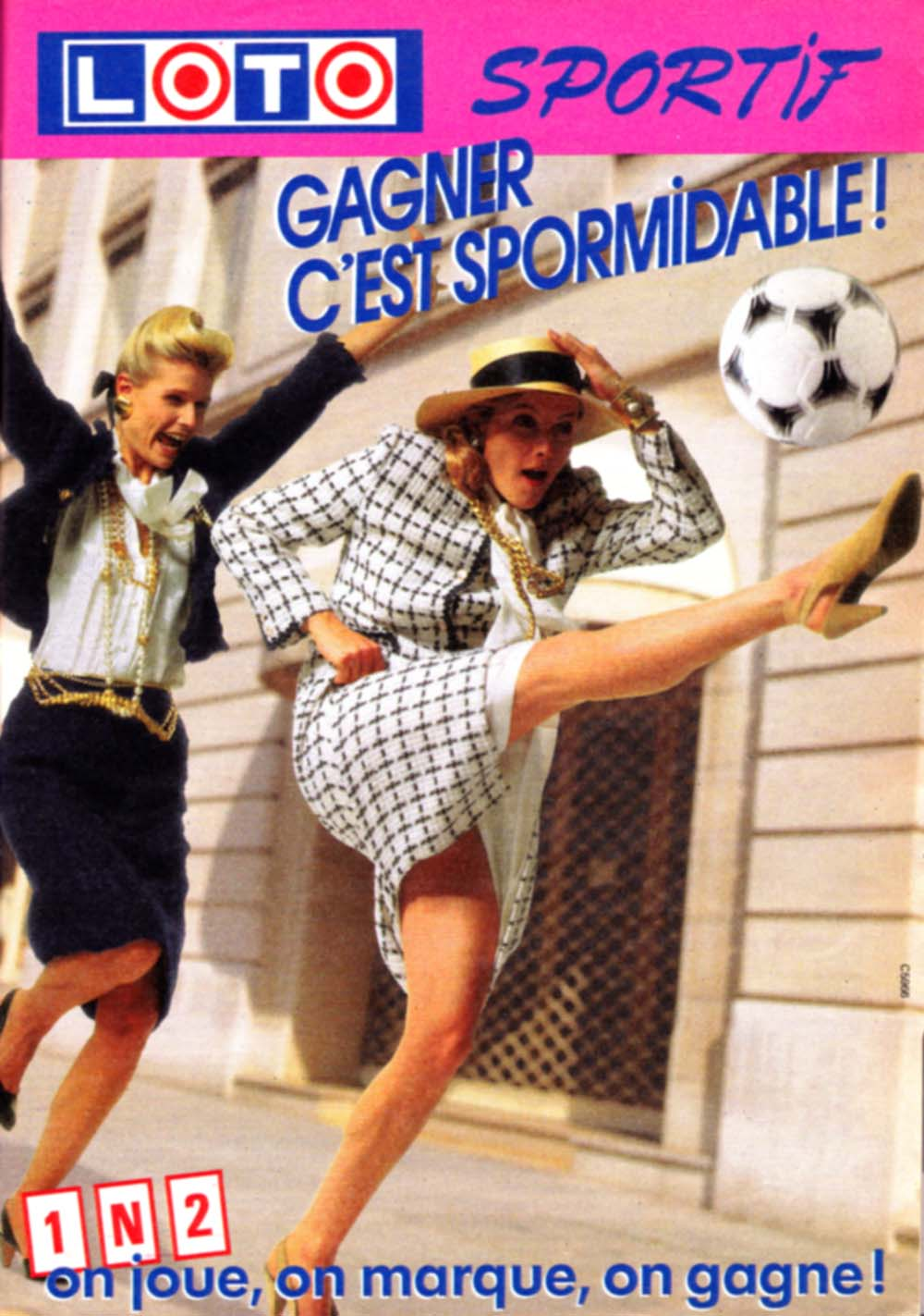 Pub Loto Sportif 1N2 version 2 (1986)