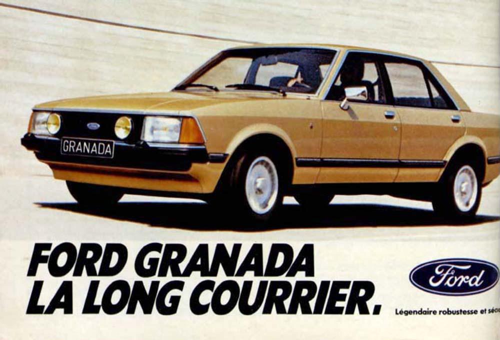 Pub Ford Granada (1980)