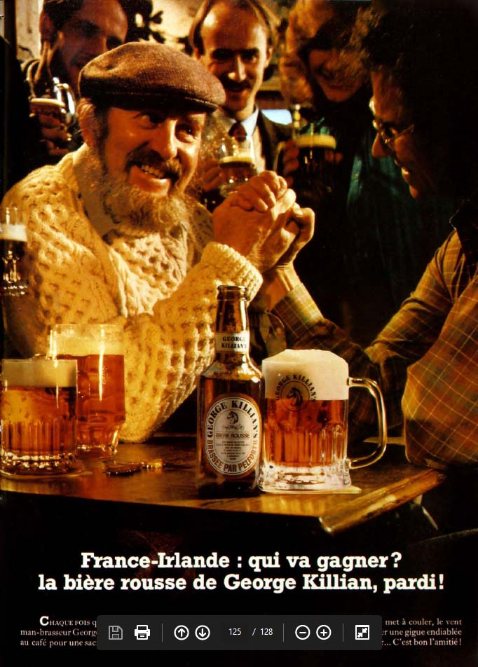 Pub Bière George Killian's (1983)