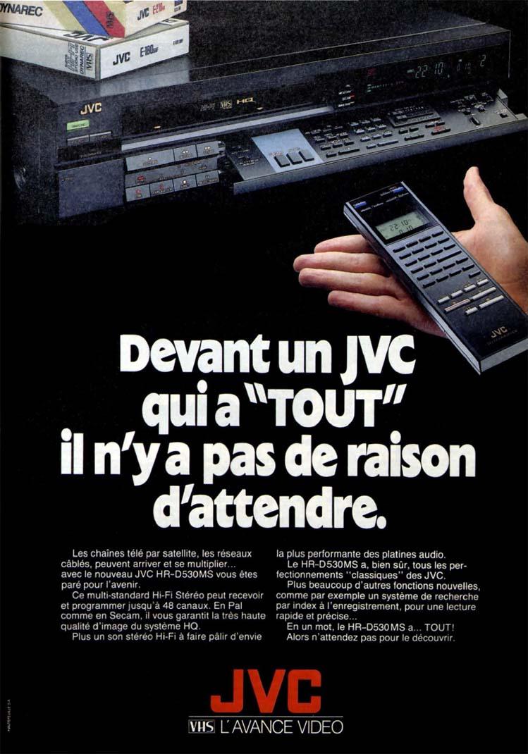 Pub JVC magnetoscope (1988)