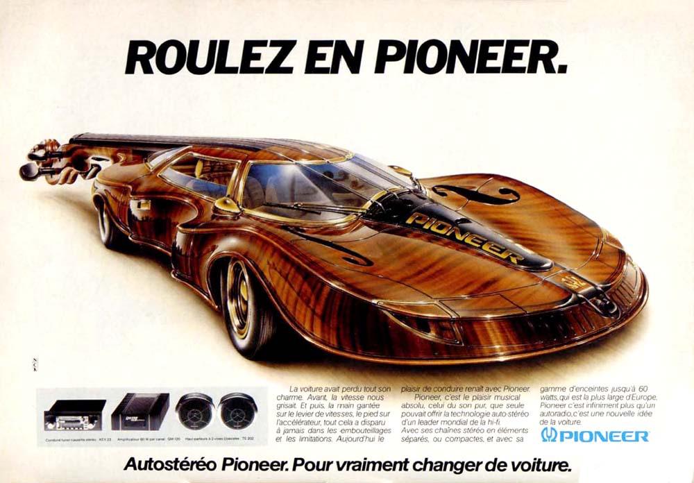 Pub Pioneer Autoradio (1980)