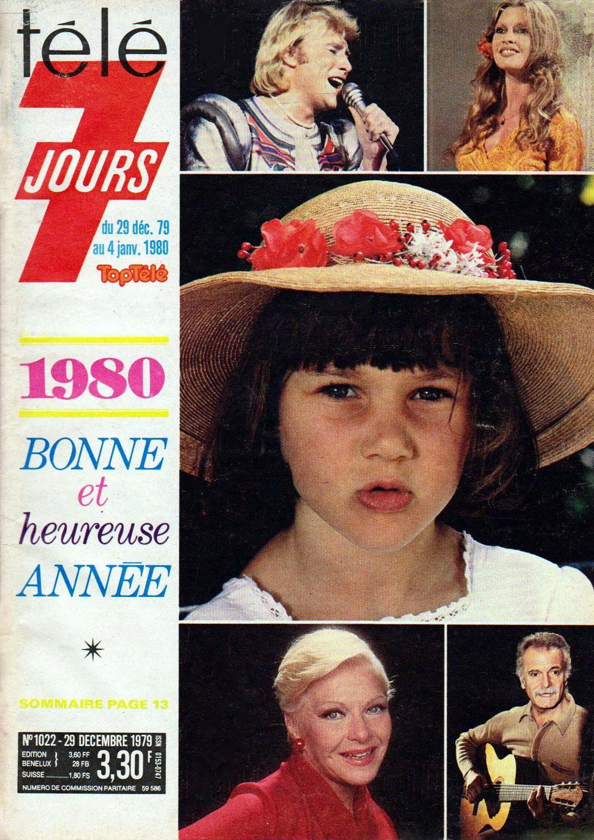 Programme TV du 28 décembre 1979 au 4 janvier 1980