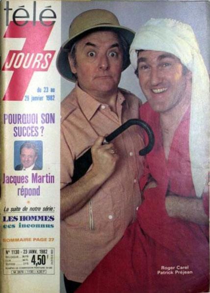 Programme TV du 23 au 29 janvier 1982