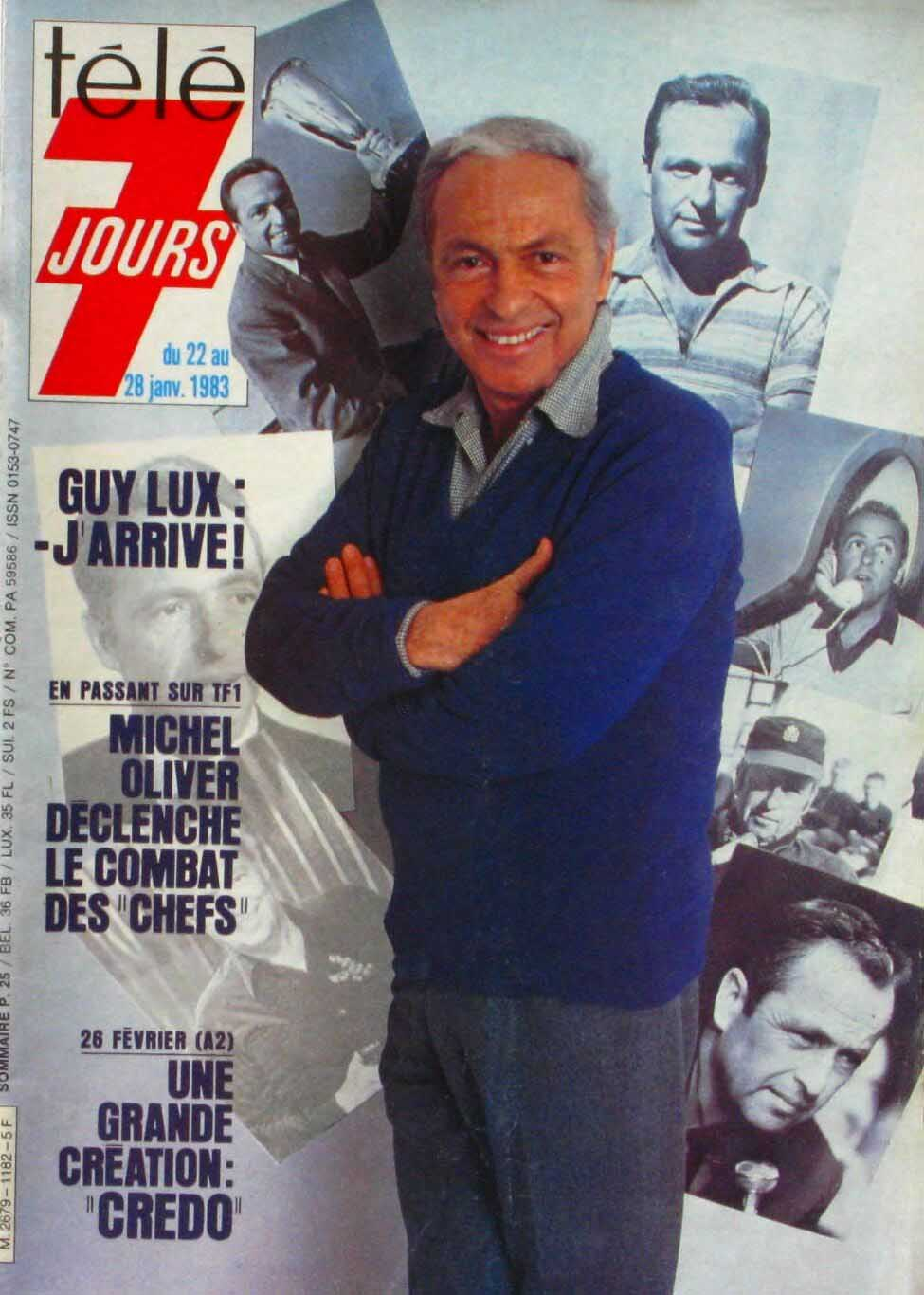 Programme TV du 22 au 28 janvier 1983