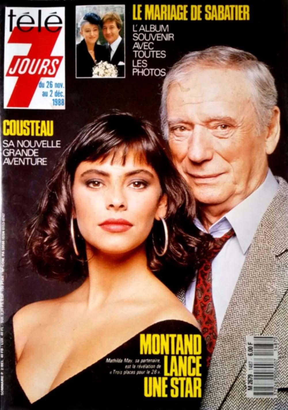 Programme TV du 26 novembre au 2 décembre 1988