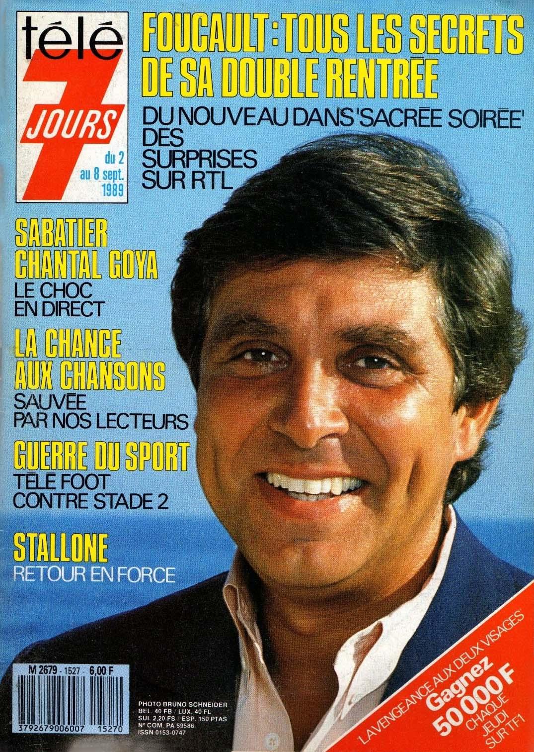Programme TV du 2 au 8 septembre 1989